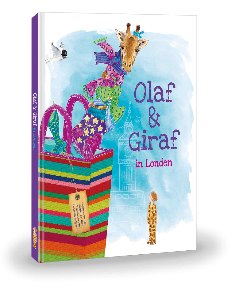 Olaf & Giraf in Londen Prentenboek €14,95 (incl. BTW)